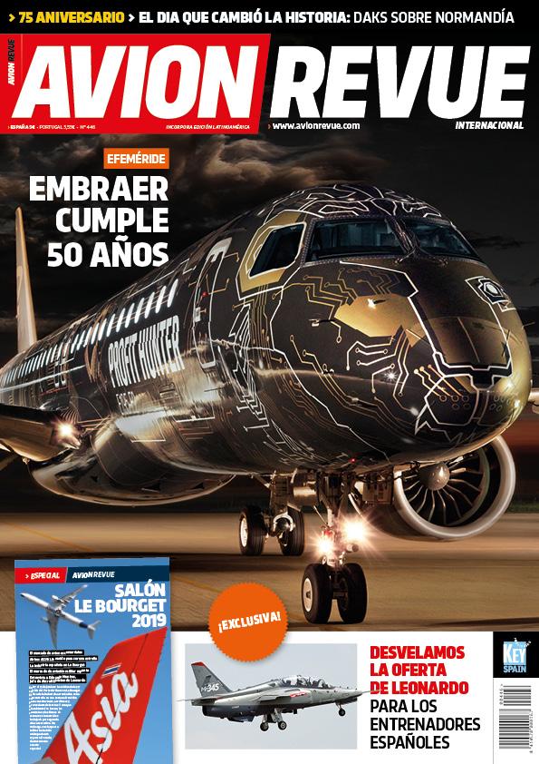 Portada Avion Revue nº446