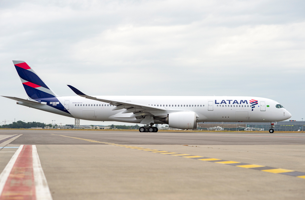 A350, LATAM