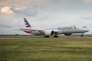 B787, American Airlines