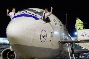 Último vuelo comercial del Boeing 737 en Lufthansa