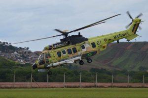 Primer H225M brasileño con Exocet