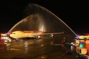 Iberia despide en Panamá a los Airbus A340-300