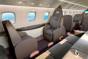 Embraer presenta el Legacy 650E