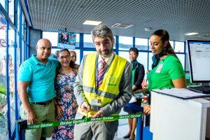 Binterinicia sus operaciones entre lasislas de Cabo Verde