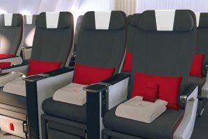 Iberia incorpora la Turista Premium en 37 aviones de su flota de largo radio