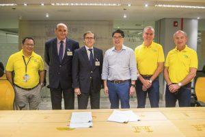 Cebu Pacific refuerza su relación con ITP