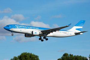 Aerolíneas Argentinas incorpora nuevo Airbus 330-200