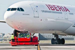 Iberia, Push, Avión