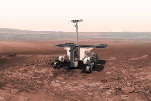 La ESA y la NASA estudian como traer suelo marciano a la Tierra