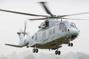 El primer AW101 Merlin Mk4 para la Royal Navy hace su vuelo inaugural