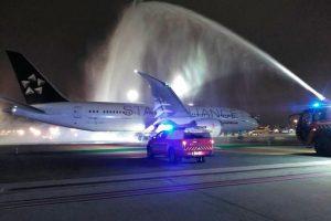 Primer vuelo directo a la India en 38 Años