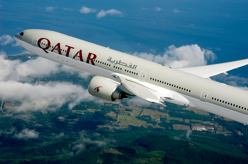 B777 de Qatar Airways