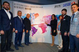Turkish inaugura sus vuelos a La Habana y a Caracas