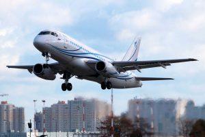 EASA valida la versión LR del Sukhoi Superjet