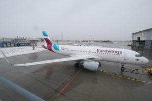 Eurowings incrementa sus destinos desde Palma de Mallorca