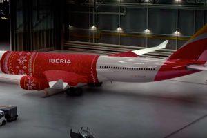 Detalles navideños para los pasajeros de Iberia