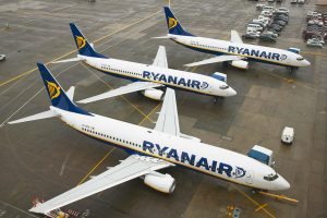 Ryanair anuncia nuevas rutas entre España y Nápoles