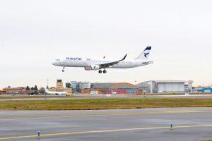 Iran Air recibe la primera de las 100 aeronaves que encargó a Airbus