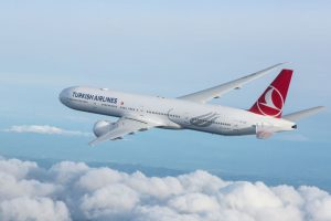 Turkish Airlines lanza su primer vuelo a Kharkiv, en Ucrania
