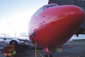 A punto para cargar el equipaje con destino Barcelona.