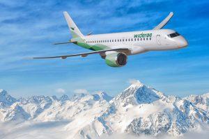Embraer firma un contrato con la aerolínea Widerøe