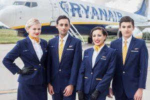 Crewlink selecciona en España tripulantes de cabina para Ryanair