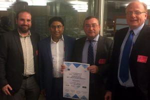 """El equipo español finalista del """"EU Drone Awards"""" recibe el premio especial a la innovación"""