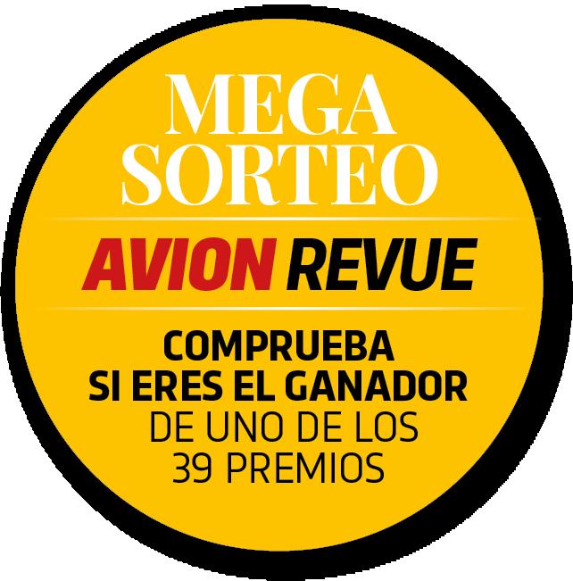 Resultados Megasorteo Avion Revue