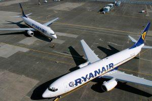 Ryanair registra un aumento del 20% en el tráfico de pasajeros de diciembre