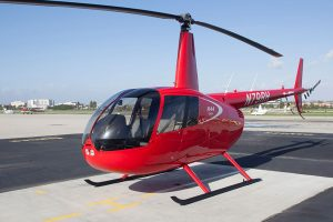 La Universidad de Dakota del Norte incorpora un Robinson R44 Cadet Trainer