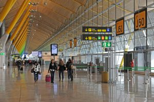 Barajas registra en mayo 4,9 millones de pasajeros, un crecimiento del 9,6%
