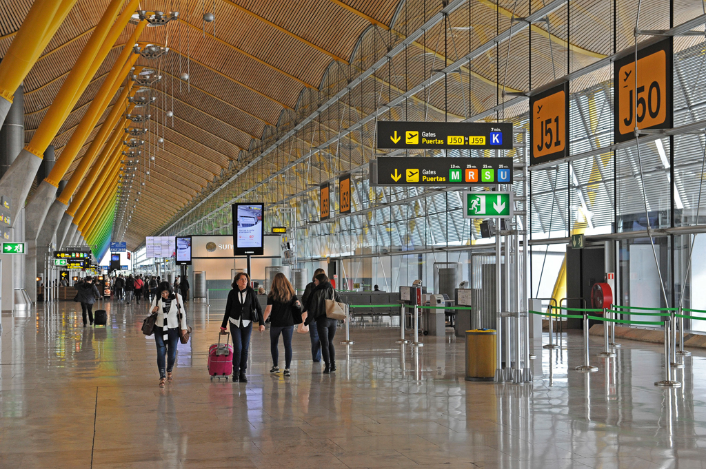 Aeropuerto, Barajas