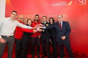Iberia la más puntual del mundo en enero