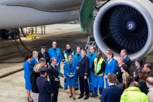 """KLM recoge el premio Flightstats a la compañía más puntual del mundo en 2016 en la categoría """"network"""""""