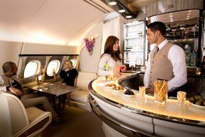 Emirates anuncia mejoras en el Onboard Lounge del A380