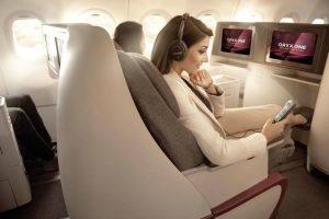 Qatar Airways premiada por su servicio de entretenimiento a bordo