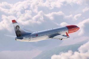 Norwegian dedica otro avión a un personaje de la historia española
