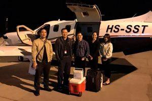 Primera TBM 930 volando en Asia