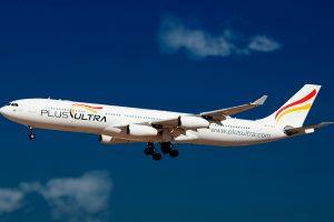 Plus Ultra Líneas Aéreas operará en verano un vuelo semanal entre Tenerife y Caracas