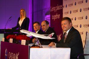 Qatar Airways presentará en marzo su nuevo asiento de Clase Business