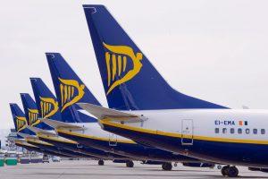 Ryanair alcanza los 8,77 millones de pasajeros en enero