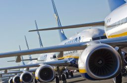 Ryanair, Aviones