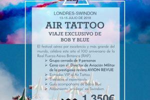 Viaja al Air Tatoo y el Centenario de la RAF