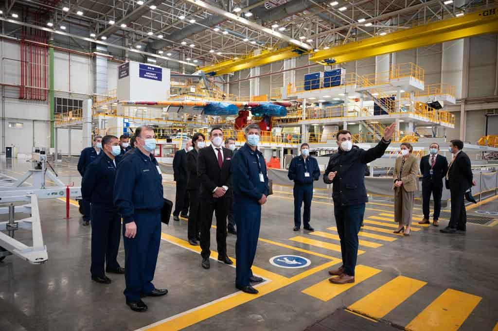 Factoría de Airbus en Sevilla