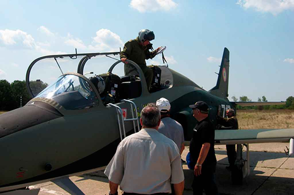 IAR-99 de la Fuerza Aérea Rumana