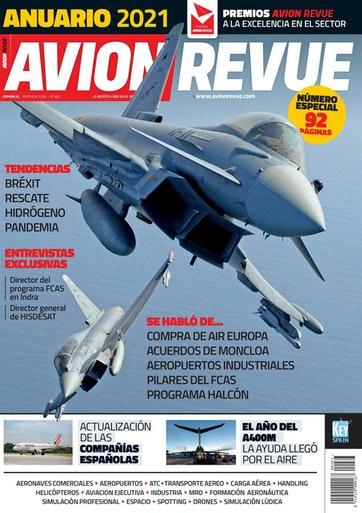 Portada Avion Revue nº463 - Anuario 2021