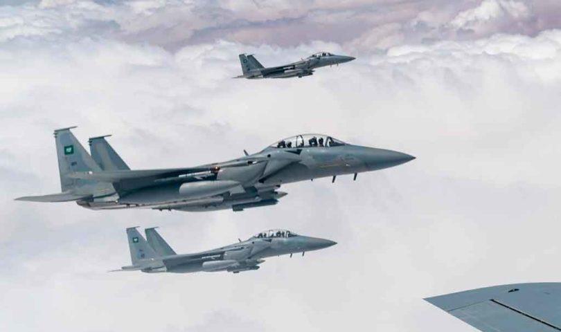 El último avión de combate avanzado F-15SA se entregó el 10 de diciembre a la Real Fuerza Aérea de Arabia Saudita.