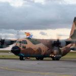 Aterrizan en Uruguay los dos Hércules adquiridos a España