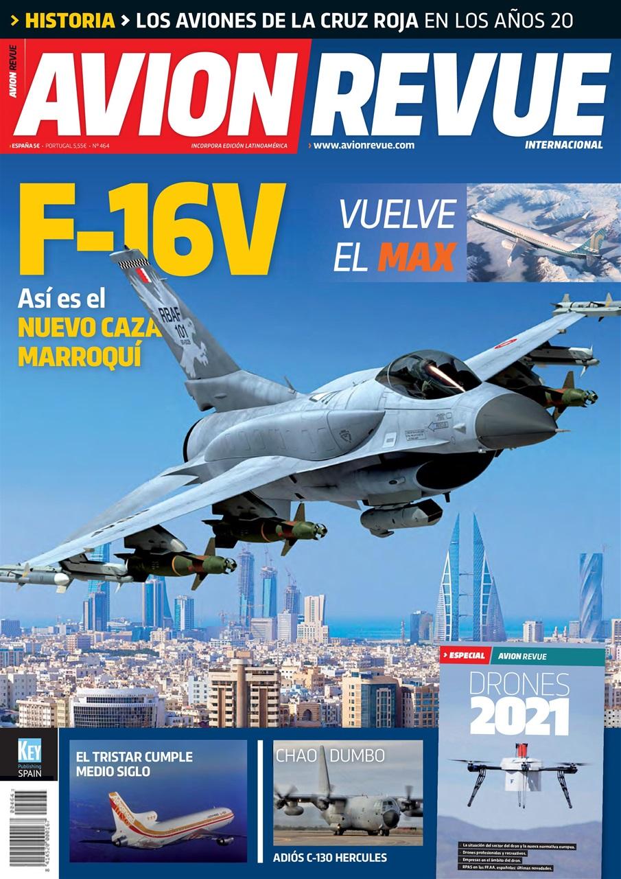 Portada Avion Revue nº464