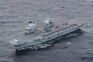 HMS Queen Elizabeth has achieved Initial Operating Capability (IOC). Crown copyright.